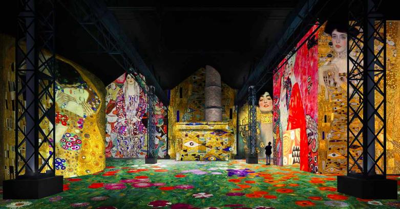 Expo Gustave Klimt - Atelier des Lumières