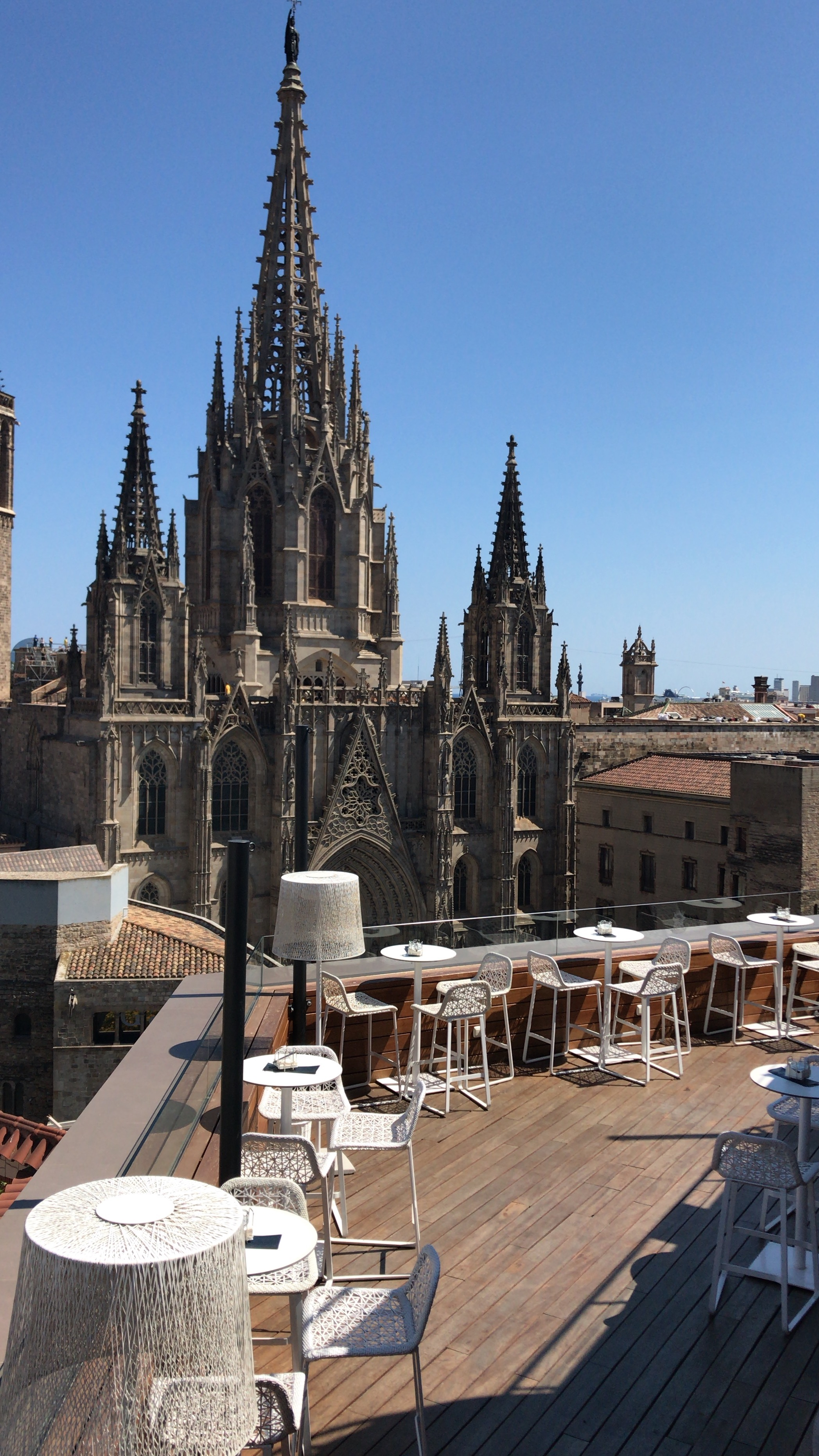 Rooftops Barcelone