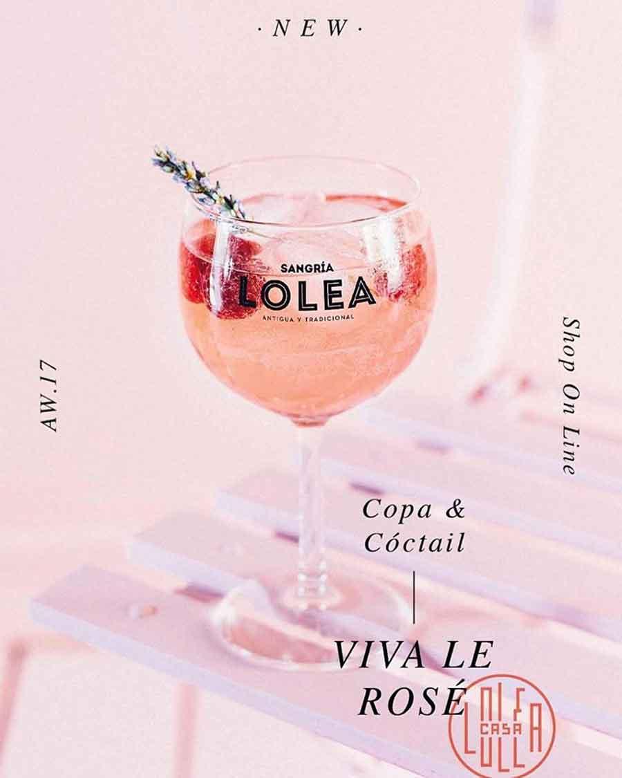 Sangria rosé Loléa
