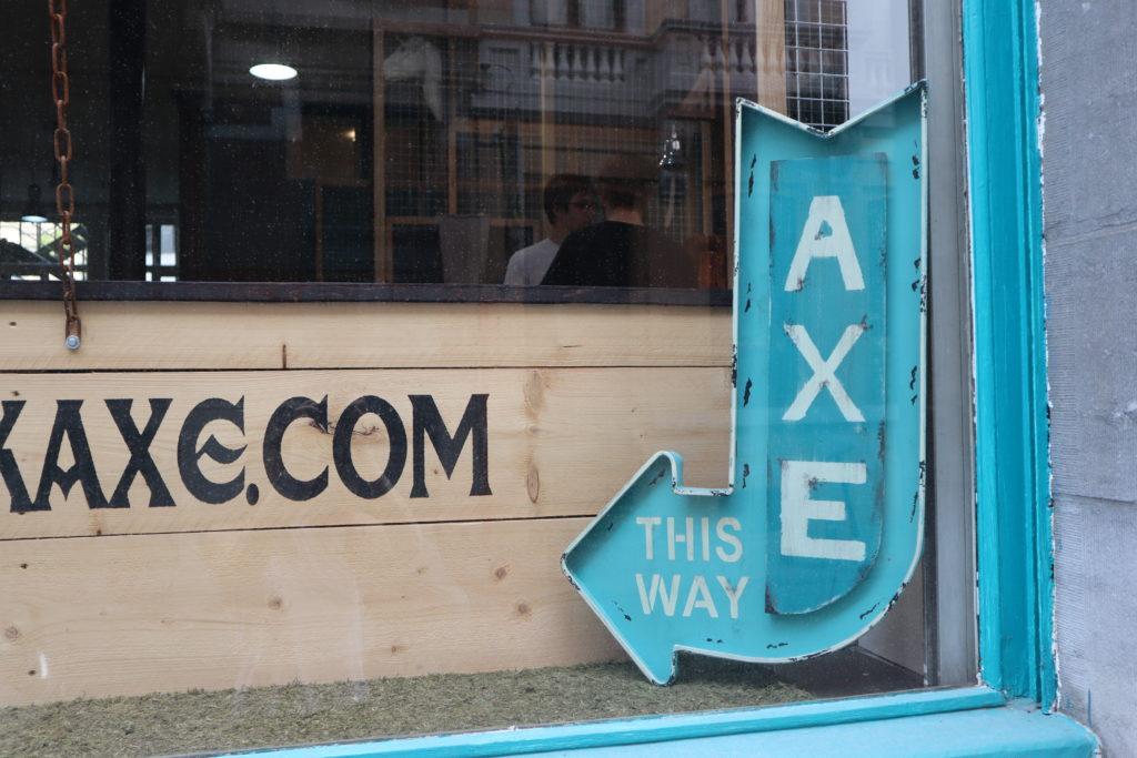 Tomahawk Axe Bruxelles : le lancé de hache qui a du style